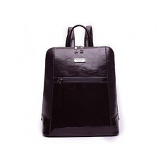 Women Patent Leather Sports Backpack
