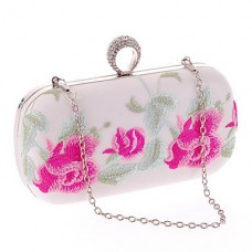 Women Poly urethane Wedding Clutch
