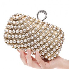 Women Elegant Diamond Evening Bag
