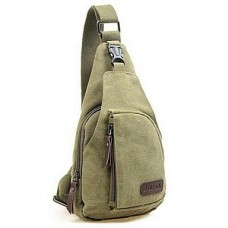 Men Canvas Casual Sling Shoulder Bags
