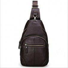 Men Cowhide Messenger Shoulder Bag