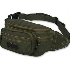 Men Polyester Outdoor Waist Bag