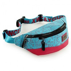 Women Canvas Casual Sports Waist Bag