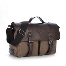 Vintage Men Women Canvas Handbag