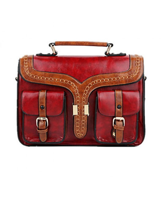 British Fashion Retro Shoulder Satchel