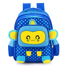 Kids Nylon Casual Solid School Bag