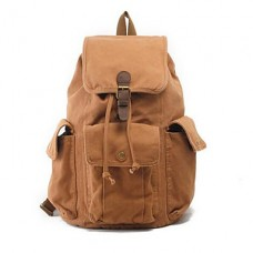 Men Canvas Casual Outdoor School Bag