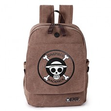 Unisex Canvas Casual Solid School Bag