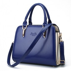 Women Patent Leather Casual Tote