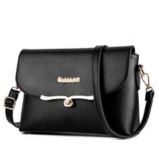 Women PU Polyester Office Shoulder Bag