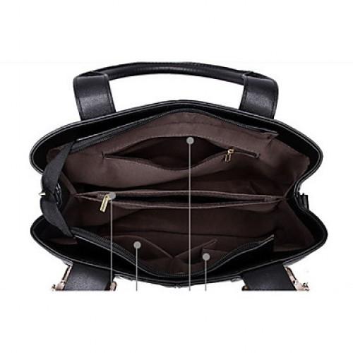 Women PU Baguette Shoulder Bag Tote