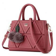 Women's PU Leather Shoulder Bag Tote