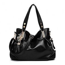 Women's Casual Vintage PU Leather Tote