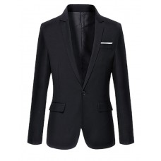 Men's Long Sleeve Regular Blazer