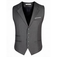 Men's Sleeveless Regular Blazer
