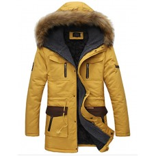 Men's Long Parka Coat