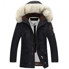Men's Long Padded Coat Cotton