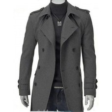 Men's Long Parka Coat,Cotton