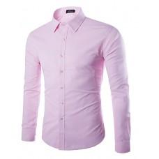 Men's Solid Casual Cotton Shirt