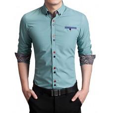 Men's Cotton Long Sleeved Shirt