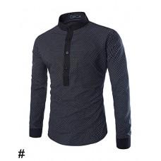 Men's Print Regular Casual Shirt