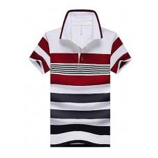 Lapel men's short sleeved POLO shirt