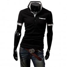 Men's Short Sleeves Polo T-Shirt