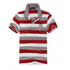Men's Turn Down Collar  Polo T Shirt