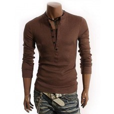 Men's Solid Casual T-Shirt