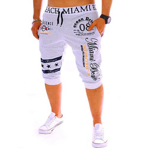 Men's Solid Print Cotton Shorts