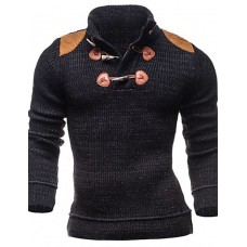 Men's Slim Cotton Blend Cardigan