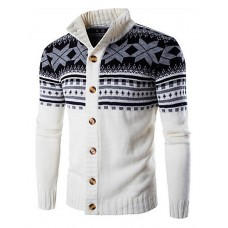 Men's Casual Cardigan Pullover
