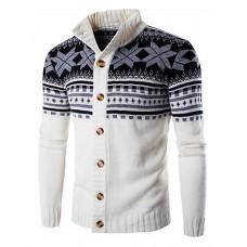 Men's Casual Cardigan Pullover