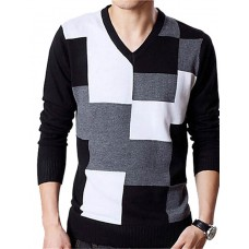 Men's Solid Cotton Long Sleeve