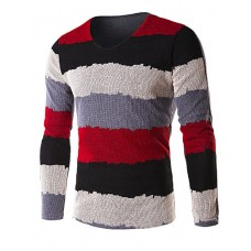 Men's Casual Long Sleeve Pullover