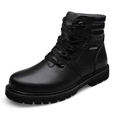 Unisex Cap-Toe Cowhide Casual Boots
