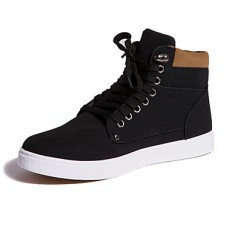 Men's Suede Casual Flat Lace-up Boots