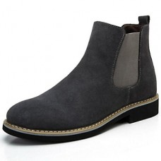 Men's Suede Outdoor Split Joint Boots