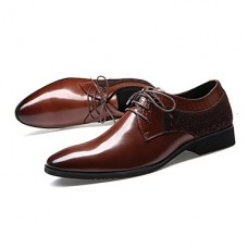 Men's Leather Casual Closed Toe Shoes