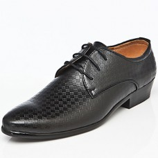 Men's Leather Office Closed Toe Shoes