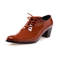 Men's Comfort Leather Flat Heel Shoes