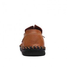 Men's Comfort Cowhide Casual Loafers