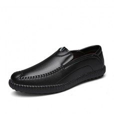 Men's Leather Casual Spring Flat Heel