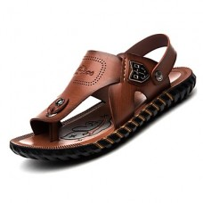 Men's Casual Nappa Leather Sandals