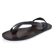 Men's Summer PU Casual Flat Sandals