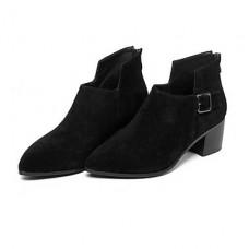 Women's Suede Cowhide Outdoor Boots
