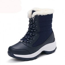 Women's Winter Platform Fabric Boots