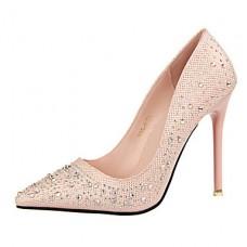 Women's Elegant Glitters Stiletto Heel Pumps