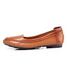Women's Comfort Leather Casual Flats