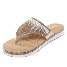 Women's Synthetic Slingback Flat Sandal